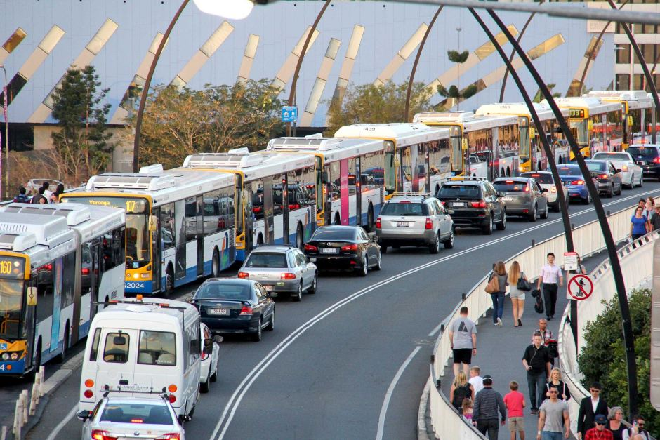 Brisbane bus Congestion